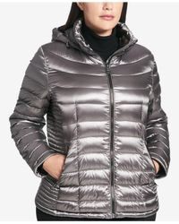 CALVIN KLEIN 205W39NYC - Multicolor Plus Size Packable Puffer Coat - Lyst