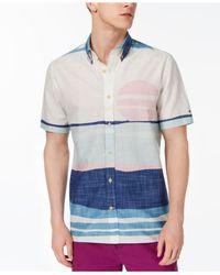 2568e95e Lyst - Tommy Hilfiger Custom Fit Desert Sunset Shirt, Created For ...