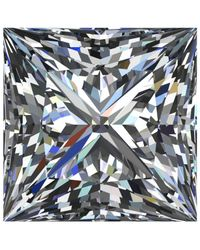 Macy's - Multicolor Gia Certified Diamond Princess (1 Ct. T.w.) - Lyst