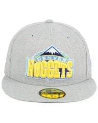 KTZ Gray All Heather 59fifty Cap for men