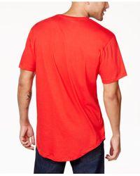 Sean John | Red Men's Beaded Skull T-shirt for Men | Lyst