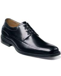 Florsheim | Black Shoes, Cortland Moc Toe Oxfords for Men | Lyst
