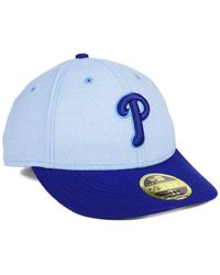 new product aeec9 ec883 KTZ Philadelphia Phillies Father s Day Low Profile 59fifty Cap in ...