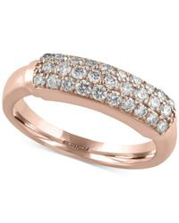 Effy Collection - Metallic Diamond Ring (5/8 Ct. T.w.) In 14k White, Yellow Or Rose Gold - Lyst