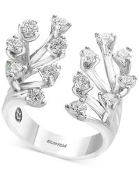 Effy Collection - Metallic Diamond Tree Branch Ring (1-1/3 Ct. T.w.) In 14k White Gold - Lyst