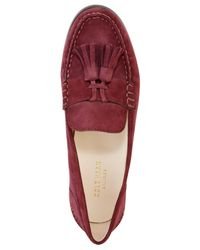 Cole Haan - Red Emmons Tassel Loafers - Lyst