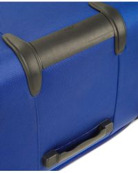 "Delsey - Blue Helium Fusion 21"" Expandable Spinner Suitcase for Men - Lyst"
