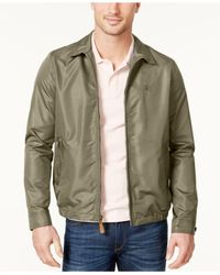 Izod - Green Men's Lightweight Golf Jacket for Men - Lyst