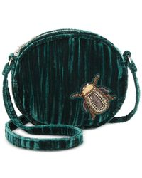 Steve Madden - Green Lotus Canteen With Bug Appliqués - Lyst