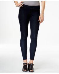 Hue | White Original Denim Leggings, A Macy's Exclusive | Lyst