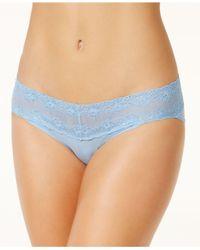 Natori - Blue Bliss Perfection Lace-waist Vikini 756092 - Lyst