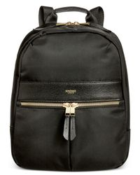 Knomo - Black Mini Nylon Backpack for Men - Lyst