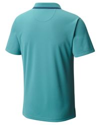 Columbia - Blue Utilizer Polo for Men - Lyst