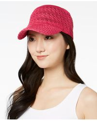 INC International Concepts - Pink I.n.c. Crochet Packable Baseball Cap, Created For Macy's - Lyst