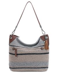 The Sak - Gray Indio Crochet Large Hobo - Lyst