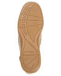 Sperry Top-Sider - Natural Bluefish Boat Shoes - Lyst