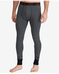 Polo Ralph Lauren - Black Men's Long Underwear for Men - Lyst