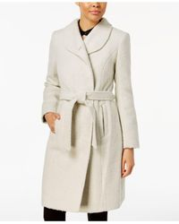 Cole Haan - Natural Asymmetrical Walker Coat - Lyst