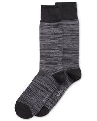 Alfani - Gray Men's Space-dyed Dress Socks for Men - Lyst