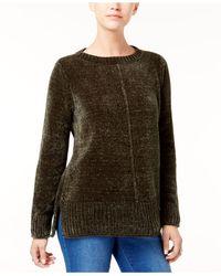 Style & Co. - Multicolor Petite Chenille Sweater - Lyst