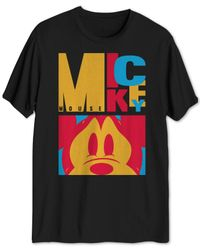 Hybrid - Multicolor Mickey Mouse Graphic T-shirt for Men - Lyst