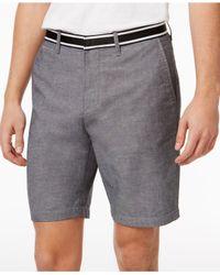 Original Penguin | Gray Men's Oxford Denim Shorts for Men | Lyst