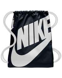 Nike Black Heritage Gym Sack