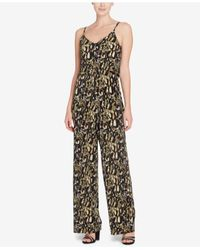 Catherine Malandrino - Multicolor Pleated Jumpsuit - Lyst