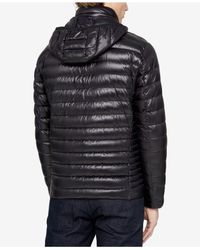 CALVIN KLEIN 205W39NYC - Black Men's Packable Hooded Puffer Jacket for Men - Lyst