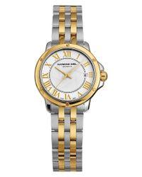 Raymond Weil - Metallic Watch, Women's Swiss Tango Two-tone Stainless Steel Bracelet 28mm 5391-stp-00308 - Lyst