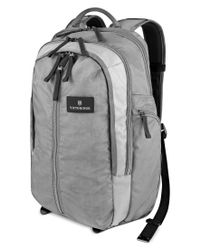 Victorinox | Gray Victorinox Altmont 3.0 Vertical Zip Laptop Backpack for Men | Lyst