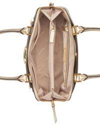 Calvin Klein - Multicolor Brooke Large Dome Satchel - Lyst