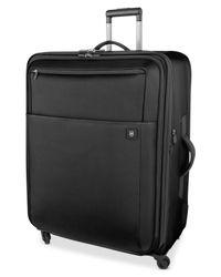 "Victorinox | Black Suitcase, 30"" Avolve 2.0 Rolling Expandable Spinner Upright for Men 