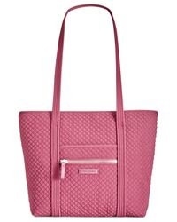 Vera Bradley - Pink Iconic Small Vera Tote - Lyst
