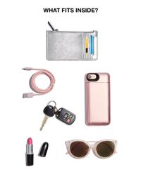 Calvin Klein - Pink Hayden Mercury Crossbody - Lyst