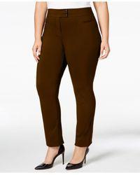 30fb6061186 Style   Co. Women s Green Plus Size Pants