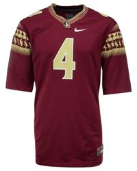 Nike Red Ncaa Replica Football Game Jersey for men