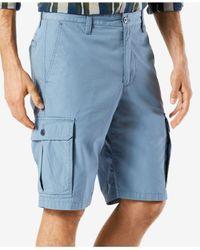 Dockers - Blue Shorts, Core Cargo Shorts for Men - Lyst