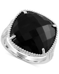 Effy Collection - Metallic Onyx Drama Ring (6-1/2 Ct. T.w.) In Sterling Silver - Lyst
