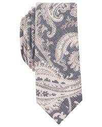 Original Penguin - Blue Men's Merse Paisley Slim Tie for Men - Lyst