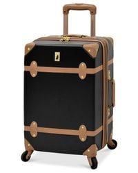 """London Fog   Multicolor Retro 20"""" Carry On Expandable Spinner Suitcase for Men   Lyst"""