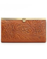Patricia Nash - Multicolor Tooled Cauchy Wallet - Lyst