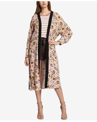 Sanctuary - Multicolor Calico Floral-print Belted Kimono - Lyst
