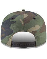 KTZ - Arizona Diamondbacks Woodland Black/white 9fifty Snapback Cap for Men - Lyst