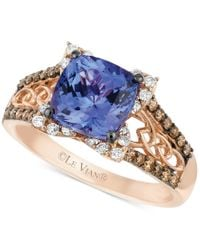 Le Vian - Pink Blueberry Tanzanite (2 Ct. T.w.) And Diamond (3/8 Ct. T.w.) Ring In 14k Strawberry Rose Gold - Lyst
