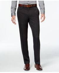 Kenneth Cole Reaction | Gray Slim-fit Low-rise Urban Pants for Men | Lyst