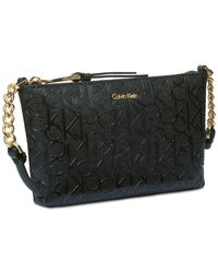CALVIN KLEIN 205W39NYC - Black Hayden Signature Small Crossbody - Lyst