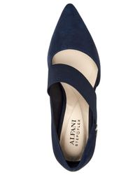 Alfani - Blue Shellii Cutout Pumps, Created For Macy's - Lyst