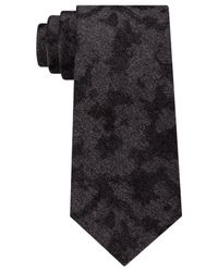 CALVIN KLEIN 205W39NYC - Black Men's Chalk Camouflage Tie for Men - Lyst