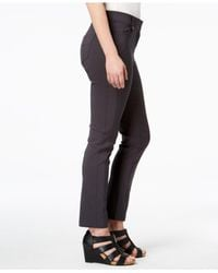Style & Co. - Gray Seamed Skinny Pants, Created For Macy's - Lyst